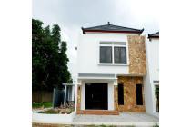 Rumah 2 Lantai Cibubur Depok Gaya Bali Dekat LRT dan Tol Cibubur  Cimanggis Depok