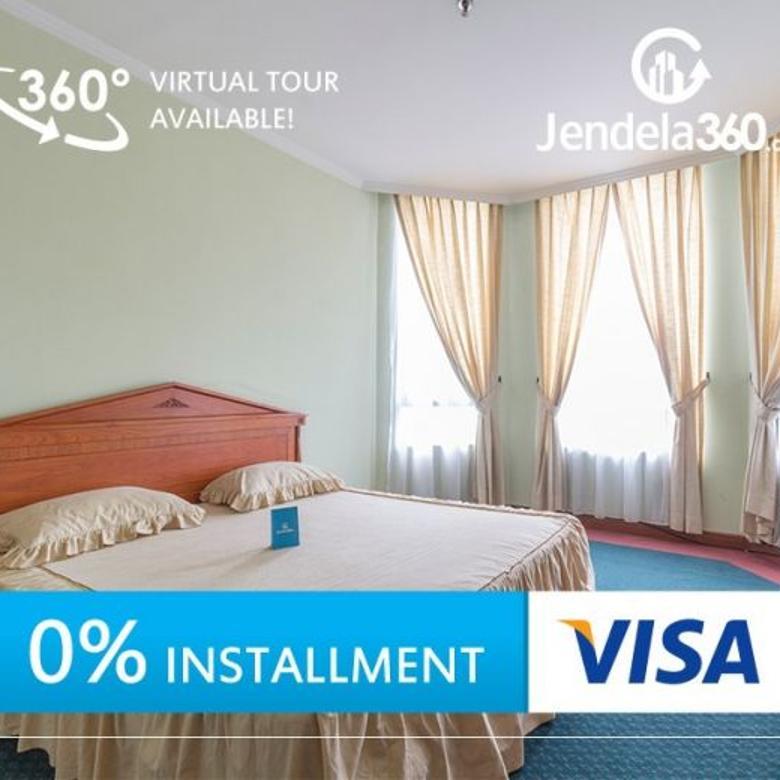Permata Gandaria Apartment 2+1BR City View (bisa cicil 12x)