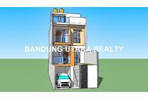 Rumah Minimalis Bagus View City, 100% Baru, Ligar elok