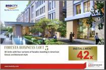 Dijual Ruang Kantor Lokasi Strategis di Foresta Business Loft 5 Tangerang
