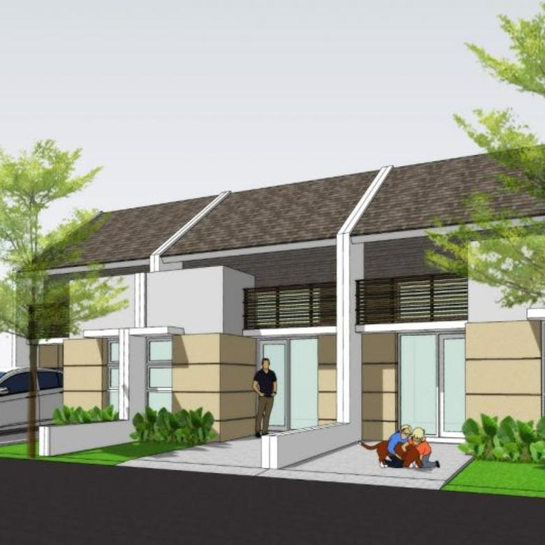 Rumah modern minimalis di daerah asri cibiru