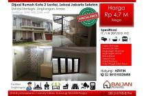 Dijual Rumah Town House