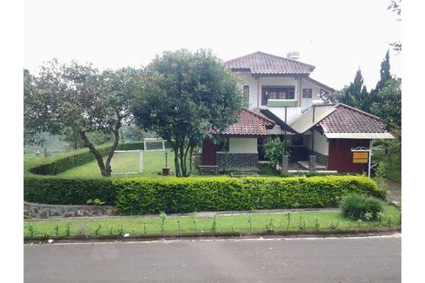 villa 4 kamar tidur, murah, gerbang pinggir jalan raya, view gunung ciater