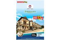 Theravada RESIDENCE BSD, Town House Premium 12 Unit, 5 Menit dari Tol BSD