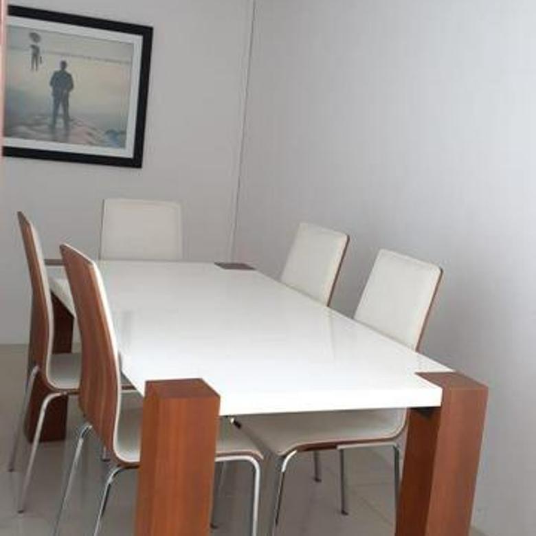 Cytilofts Sudirman setting Office Karet Tengsin Luas 104m2 Lt17 Furnished View Sahid