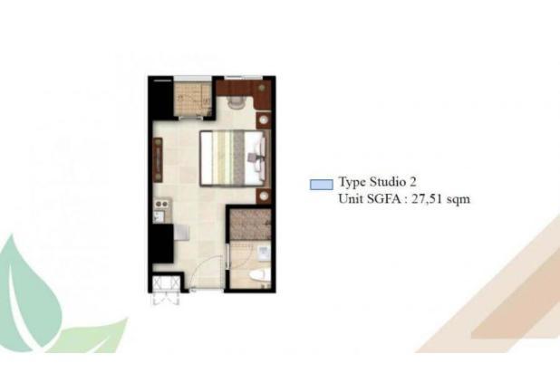 Rp328jt Apartemen Dijual