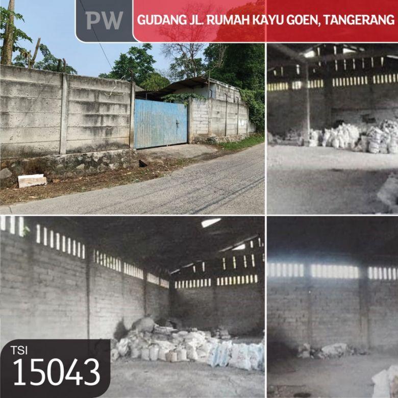 Gudang Jl. Rumah Kayu Goen, Tangerang, 1.220 m², 1 Lt, SHM