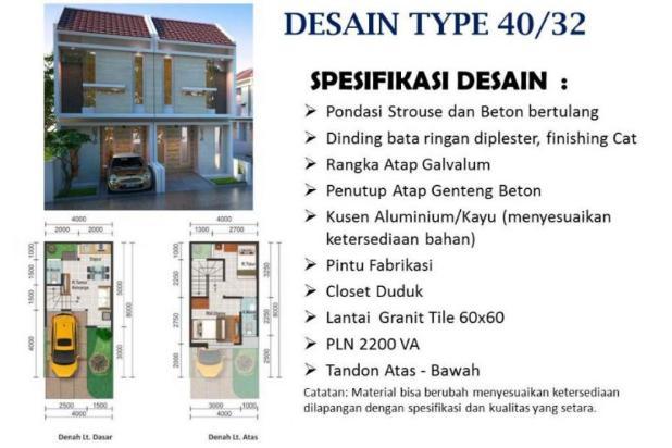 Rumah syariah surabaya barat banyu urip 425juta 15424288