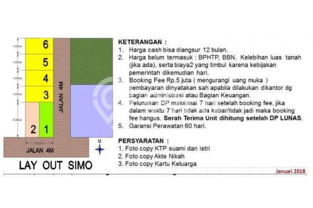Rumah syariah surabaya barat banyu urip 425juta 15424289