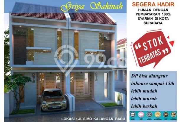 Rumah syariah surabaya barat banyu urip 425juta 15424290