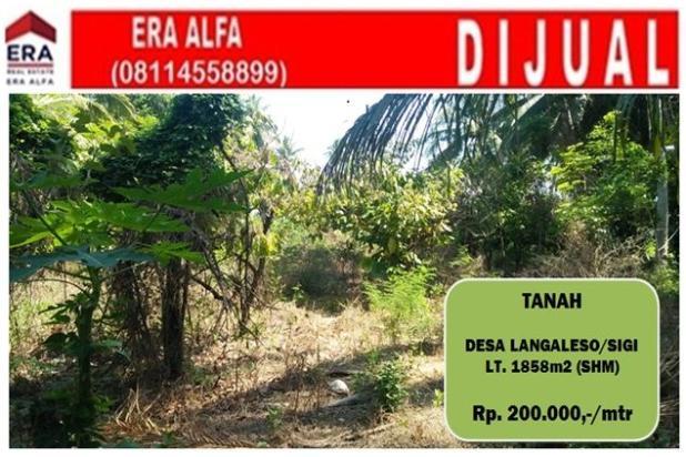 Rp371jt Tanah Dijual