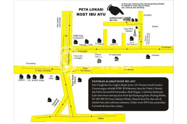 Sewa Paviliun 1 KT, 1 R.Tamu, 1 KM, 1 Dapur, Free Listrik & Air 9842889