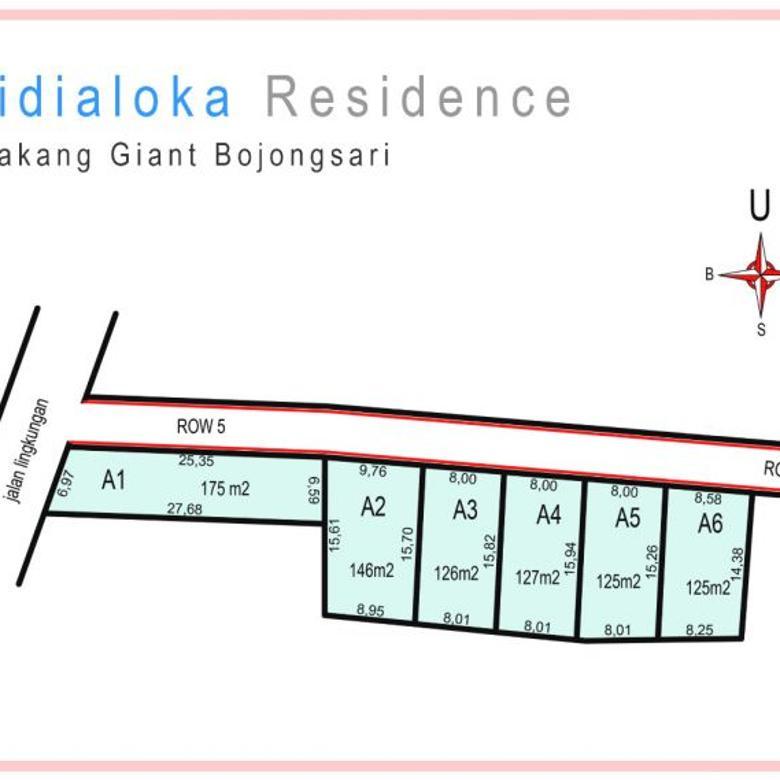 Tanah Kapling di Bojongsari Depok Boleh Bayar Tempo