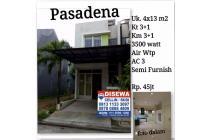 Rumah Semi Furnish + Harga Sangat Murah di Pasadena Cengkareng