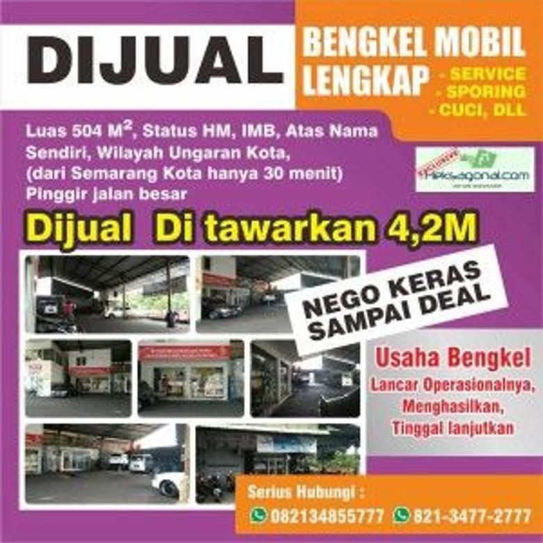 Bengkel dijual di Ungaran kota Semarang hks6300