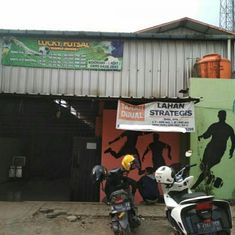 Gedung Futsal Mainroad Jalan Utama Sukamenak Cangkuang