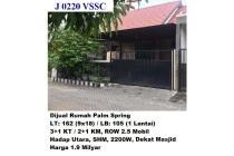 Dijual Rumah Nyaman dan Strategis di Palm Spring Jambangan Surabaya