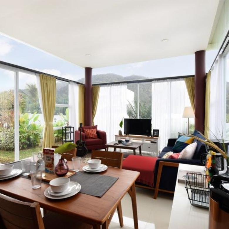 (RARE) SHM Designer Villa Minimalis Modern Villa Rosso Puncak