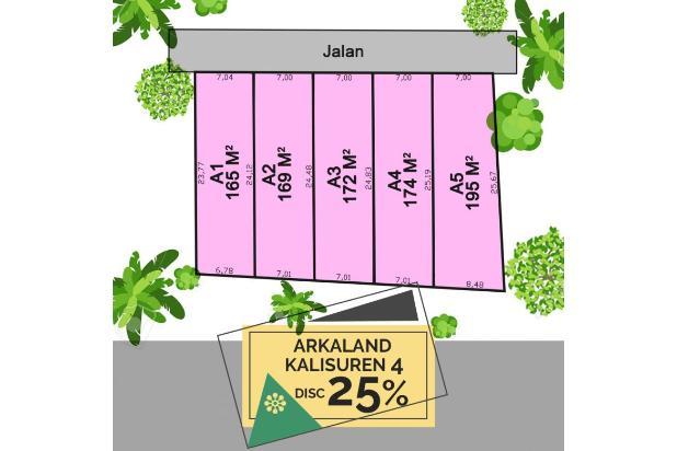 Kapling 100-an M2 di Kalisuren Diskon 25% Legalitas SHM 22207307