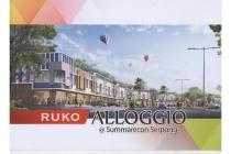 Dijual Ruko Alligio Lokasi Strategis di Summarecon Serpong Tangerang
