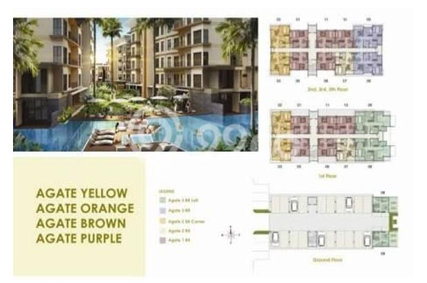 Dijual Apartemen 5 Lantai di Asatti Garden House At Vanya Park, BSD City 18803532