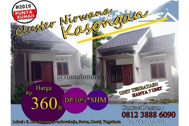 Rp36jt Rumah Dijual