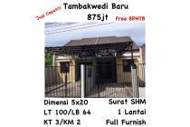 Rumah Tambakwedi Baru Surabaya dkt Kenjeran Mall Siap Huni