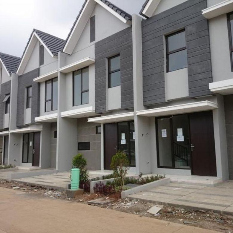rumah cantik 2 lantai free biaya kpr di karawang barat