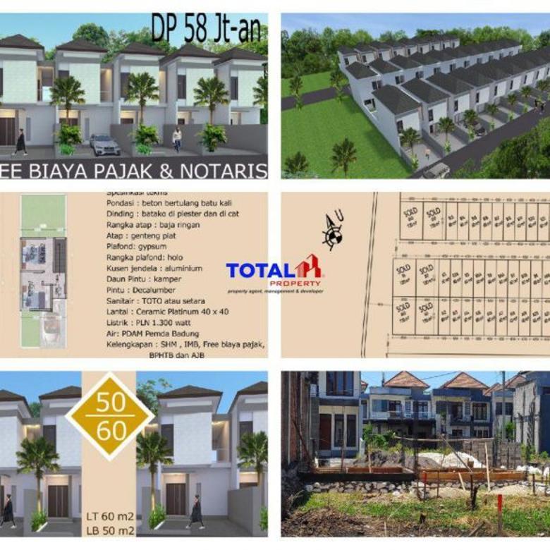 House for sell, rmh 2 lt minimalis ekonomis, Jimbaran, Bali