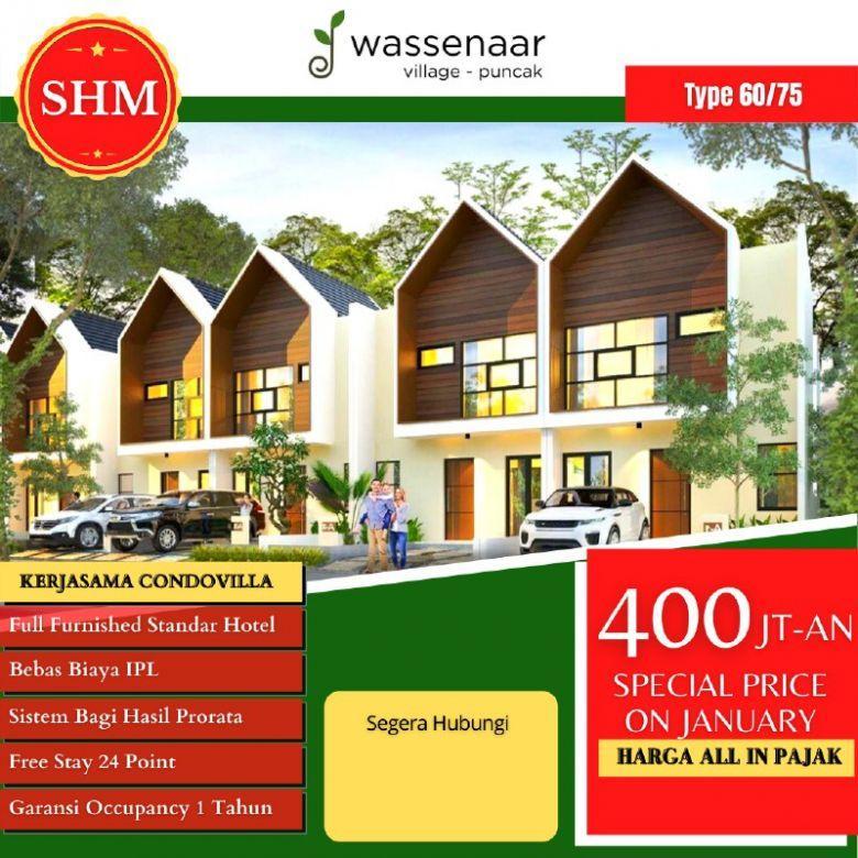 Villa Puncak Murah Fasilitas Smart Home Integrated System