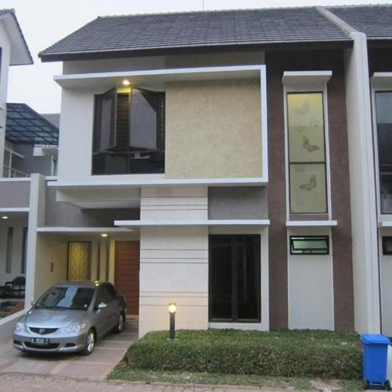 rumah 24 residence minimalis townhouse di area jagakarsa