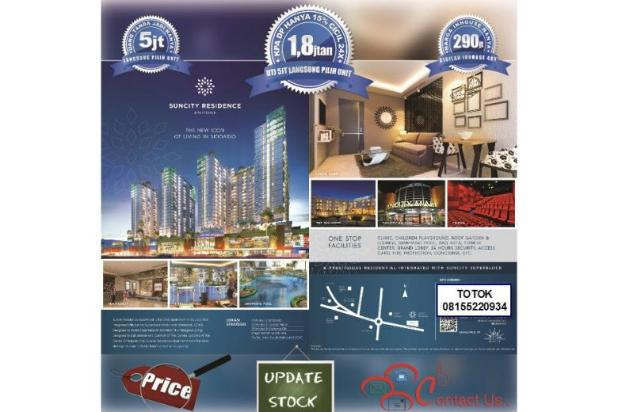 Rp290jt Apartemen Dijual