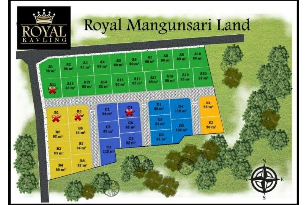 Rp74jt Tanah Dijual