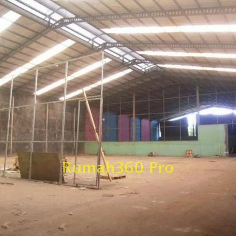 Gudang Besar dengan bangunan kantor Taman Tekno BSD Serpong - TT005