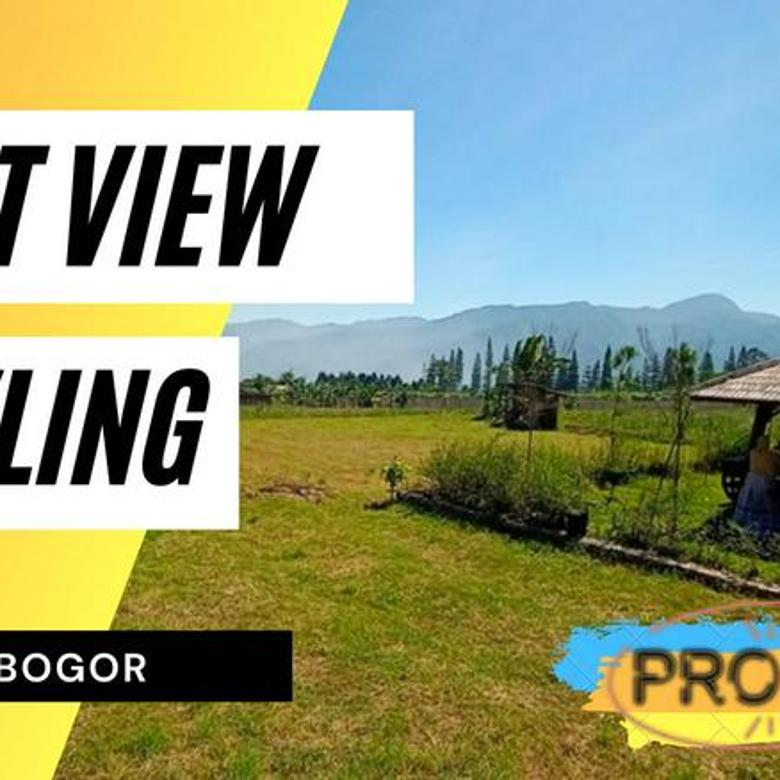 Tanah Kavling View Gunung Siap Bangun di Cisarua Puncak Bogor