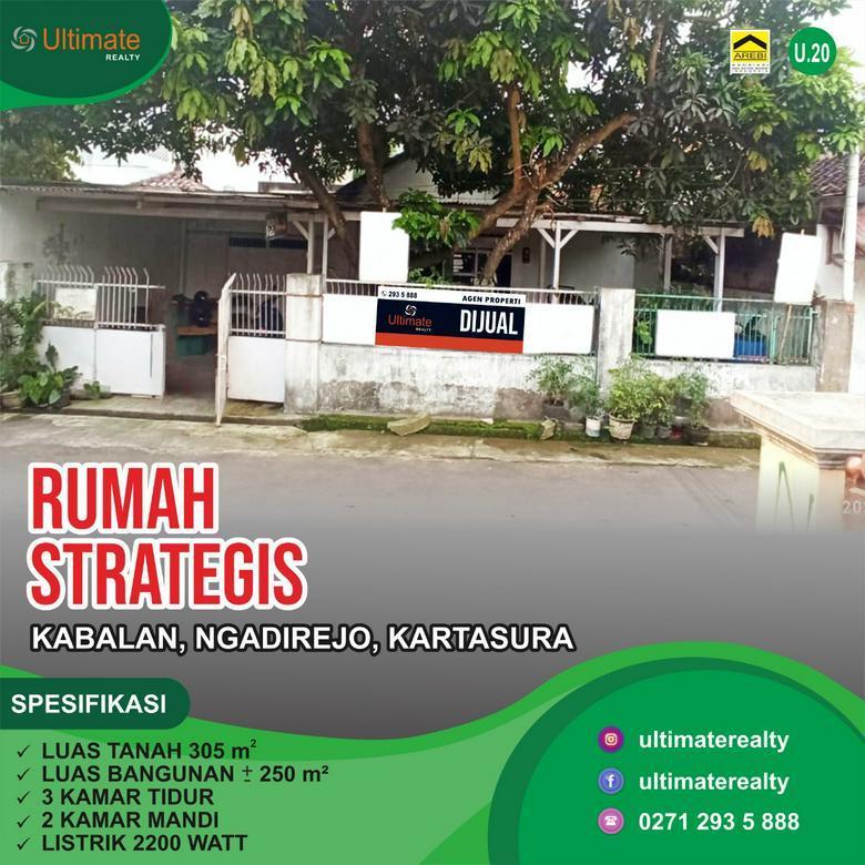 Rumah Strategis di Ngadirejo, Kartasura