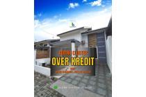 Rumah Over Kredit Cicilan Tetap Dekat Pintu Tol Helvetia Medan