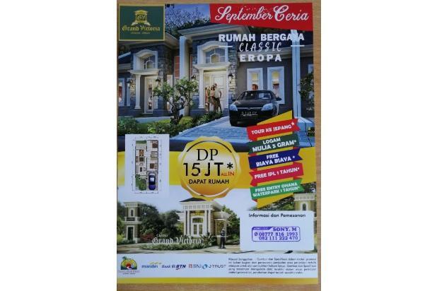 Rp827jt Rumah Dijual