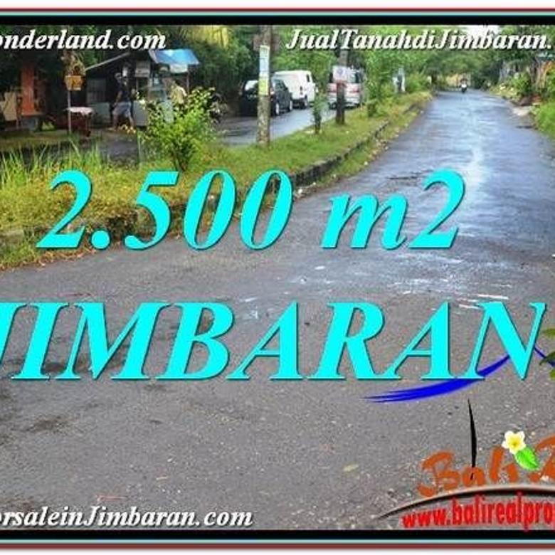 TANAH MURAH di JIMBARAN 2,500 m2 di Jimbaran Ungasan