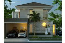 Rumah lux modern view kota bandung