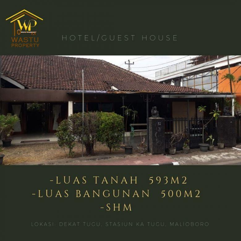 Di jual Guest House Lt 593 m2 harga 25 M