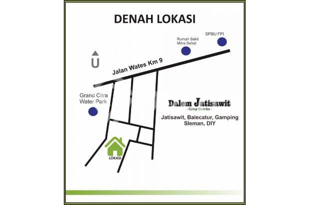 Rumah Dijual di Balecatur Gamping dekat Perumahan Ciputra 15626491