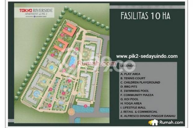 Tokyo Riverside Apartment PIK2 Tangerang, Tangerang, Banten 5859859