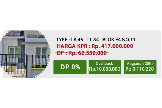 Rumah murah harga terjangkau tanpa dp 13245487