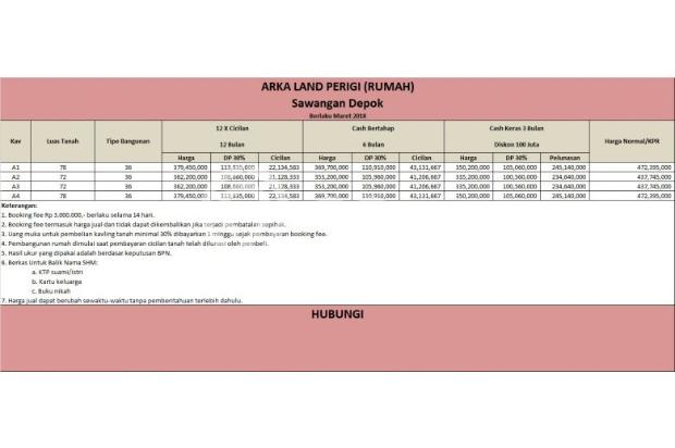 Miliki Rumah di Bedahan, Mumpung Potong Pembayaran 100 Jt 16577512