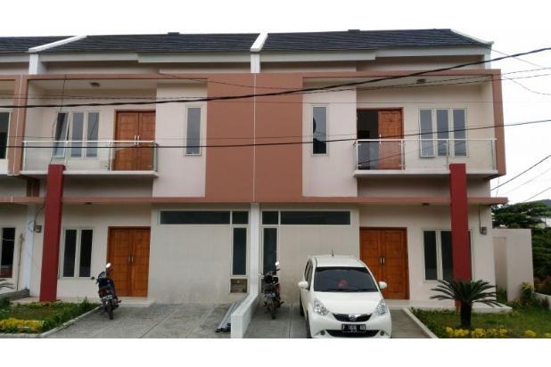 rumah 2 lantai tdp 15jt gratis biaya kpr dekat stasiun cilebut bogor 17306597