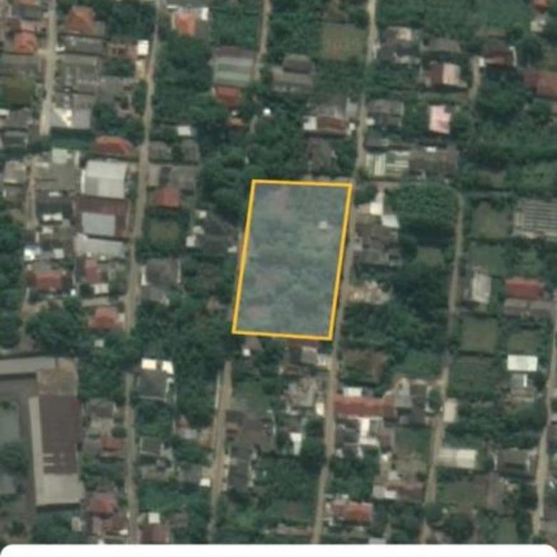Tanah 4000 meter di Ciputat. Cocok untuk bangun Cluster