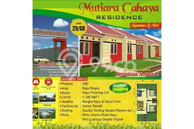rumah subsidi double dinding unit terbatas cikarang 16844596
