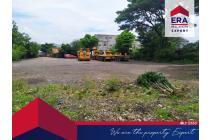 Dijual Tanah Pinggir Jalan Besar, Akses Kontainer Cocok Untuk