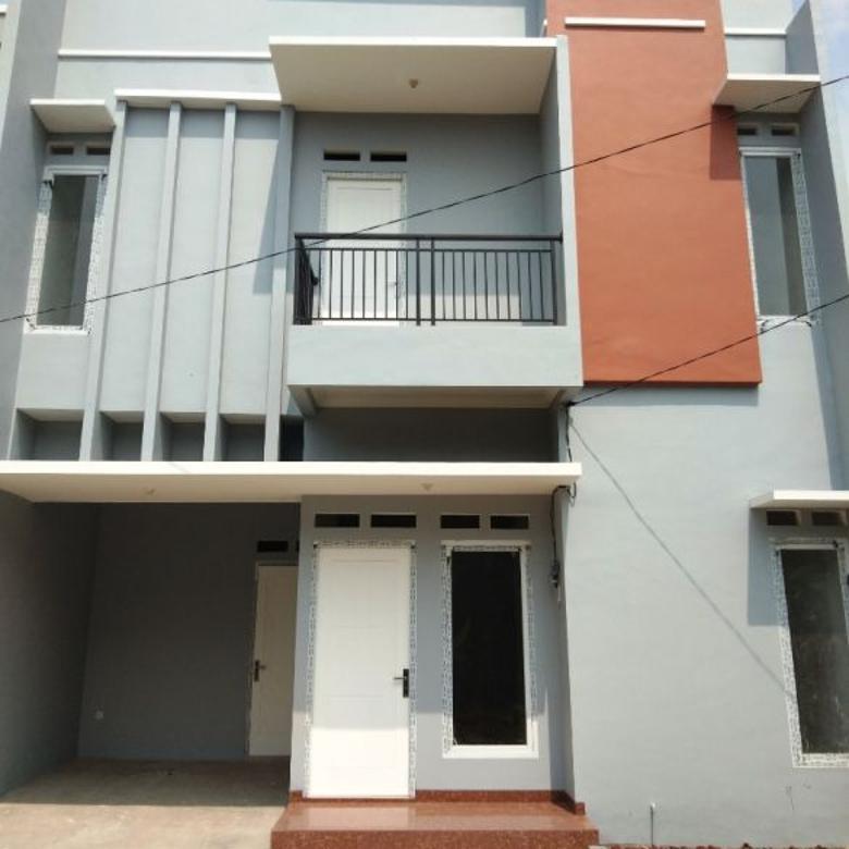 rumah cluster baru ready stock di jatiwaringin pondok gede bekasi